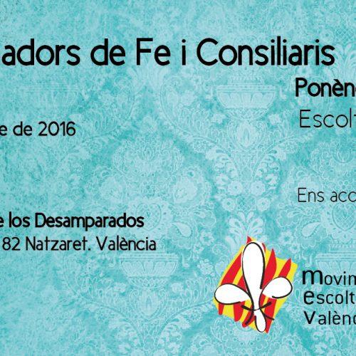 Apúntate al IV Encuentro de Animadores de Fe y Consiliarios