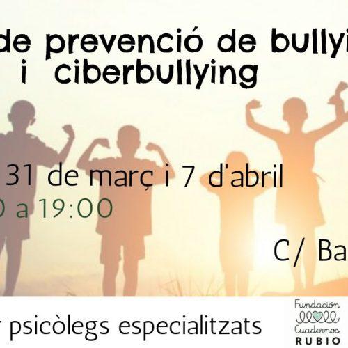 FORMACIÓN🎓    Taller sobre prevención de bullying i ciberbullying