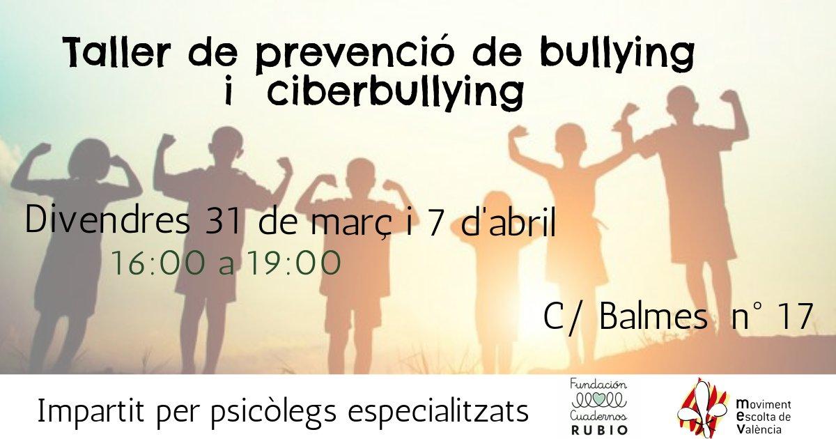 FORMACIÓ🎓  | Taller sobre prevenció de bullying i ciberbullying