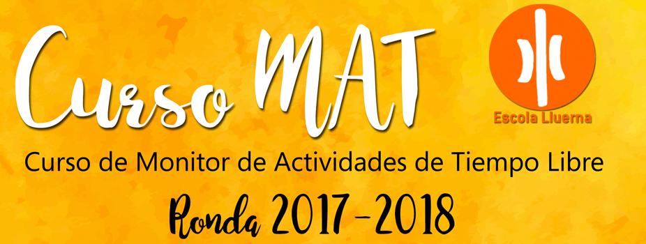 Abierta la inscripción al curso de MAT 2017