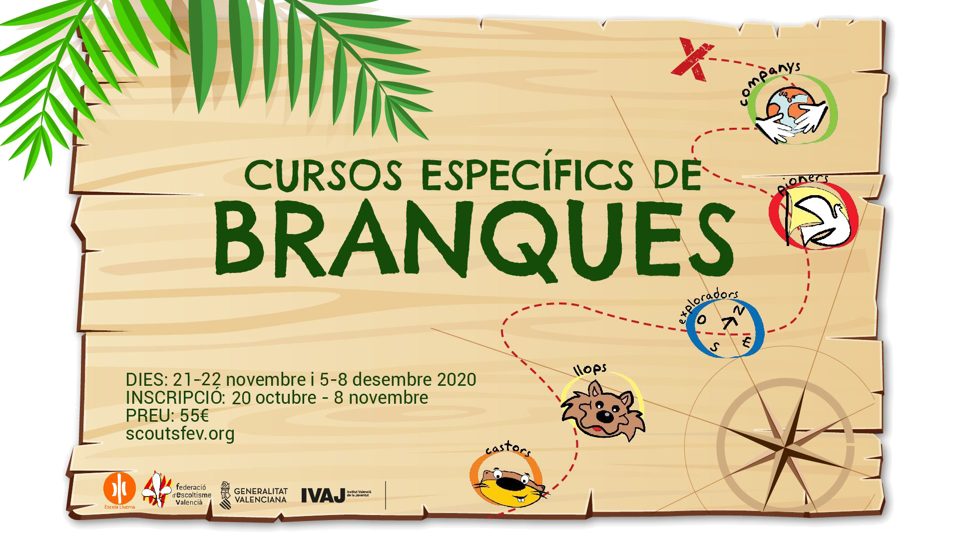 Cartell curs Branques 2020