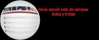 webFEV: Secció Instal·lacions