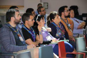Membres de l'Equip FEV a la 63a Assemblea de Scouts MSC